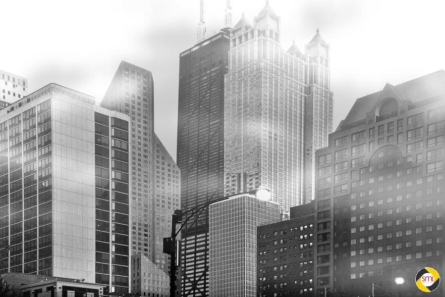 Chicago im Nebel (c) Anna Milkova