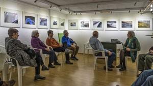 Ausstellungsbesprechung im Atelier der SML