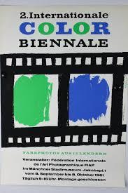 SML Plakat Color Biennale 1963
