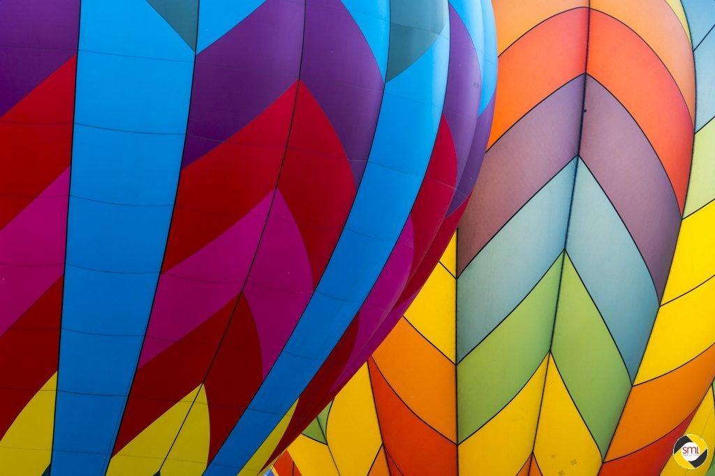 Two Balloons © Dieter Lier - 2. Platz Papierbilder Farbe 2016