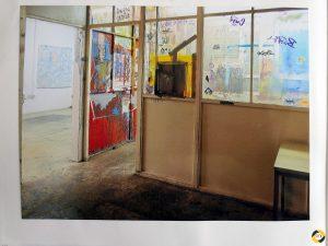 Auf der Suche nach Ausstellungsorten © Christa Gschwentner