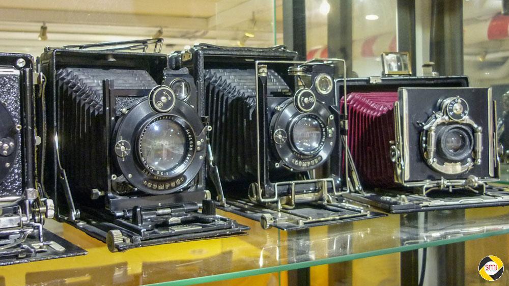 Historische Kameras im SML Archiv