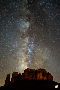 Milky Way over Cathedral Rock © Dieter Lier
