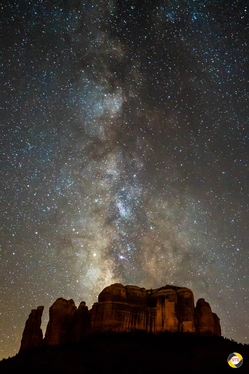Milkyway over Cathedral Rock © Dieter Lier