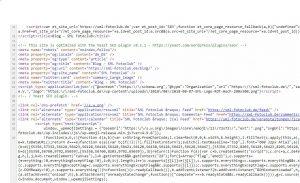 Ein Blick unter die Motorhaube der neuen Webseite