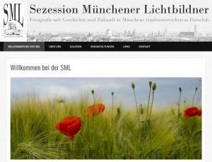 Screenshot der alten Webseite www.foto-sml.de