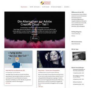 Screenshot SML Blog