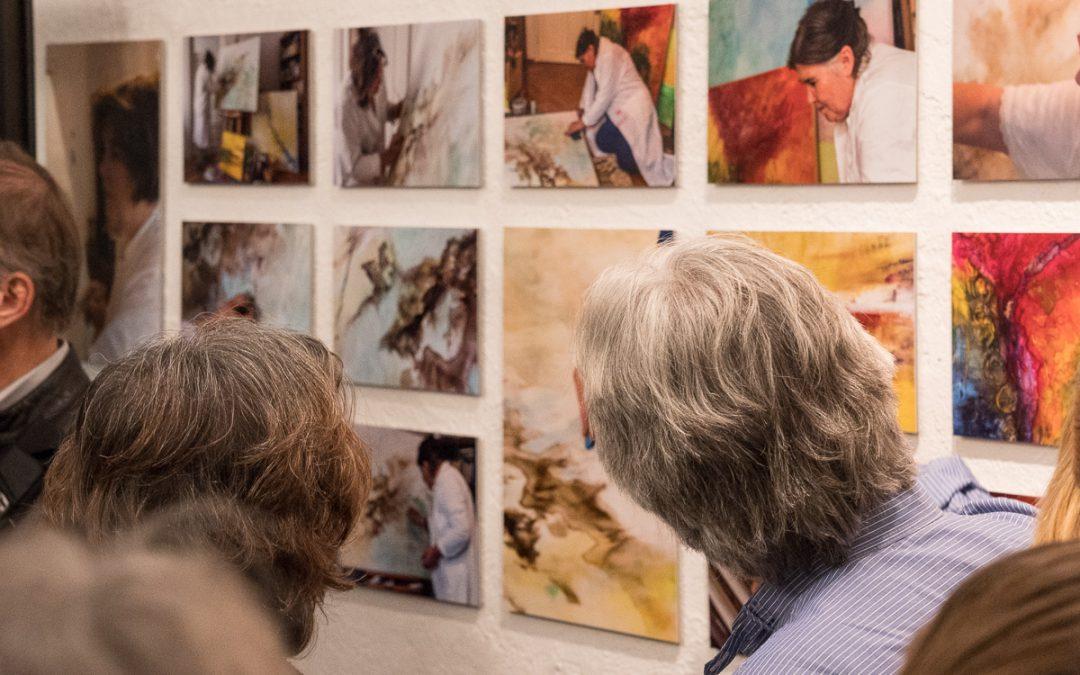 Rückblick auf die Fotoausstellung 'Schwabinger Künstler'