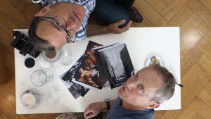 Coffeetable mit Wolfgang Götschel u. Christoph Kopp