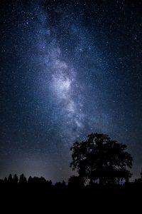Die Milchstrasse bei Andechs © Wilfried Sperling