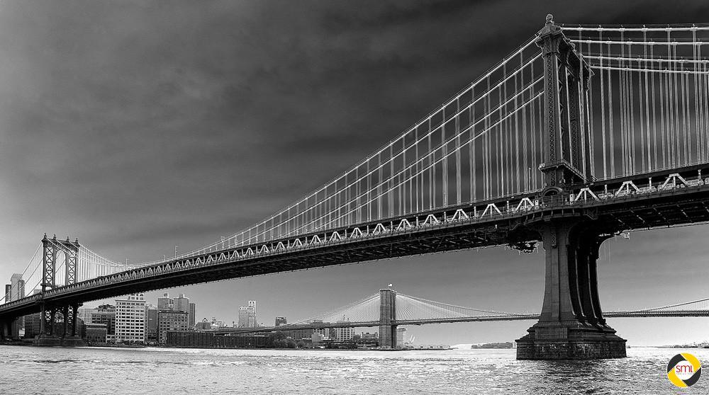 Solarisation Manhattan Bride © Richard Mayer