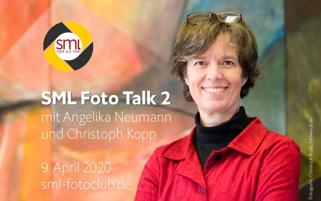 SML Foto Talk #2 mit Angelika Neumann